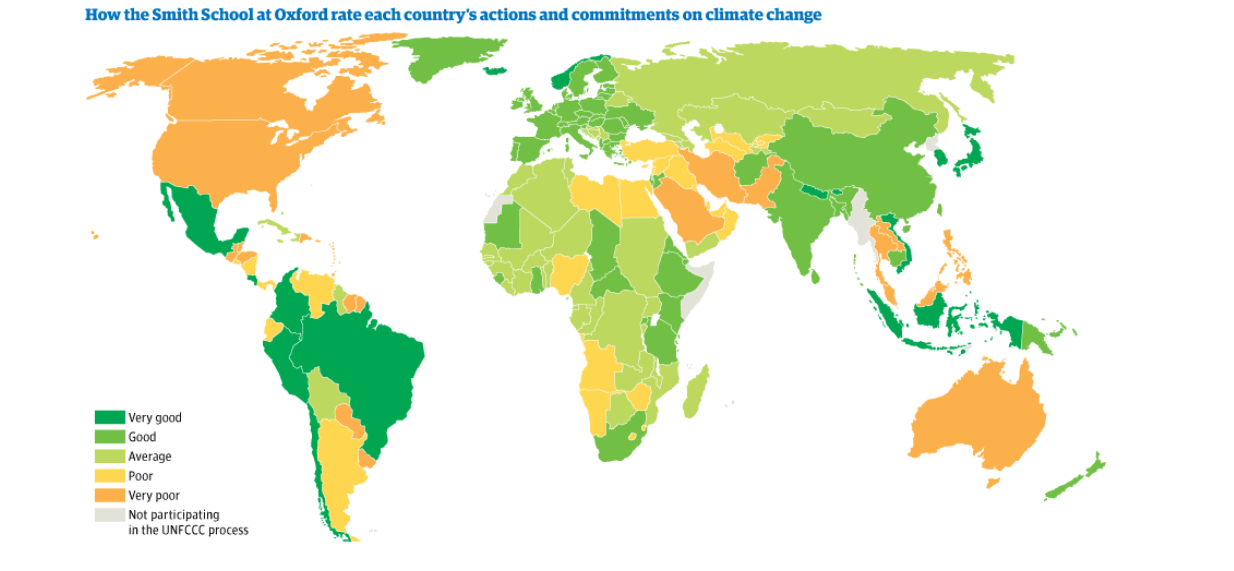 mapping climate change commitments