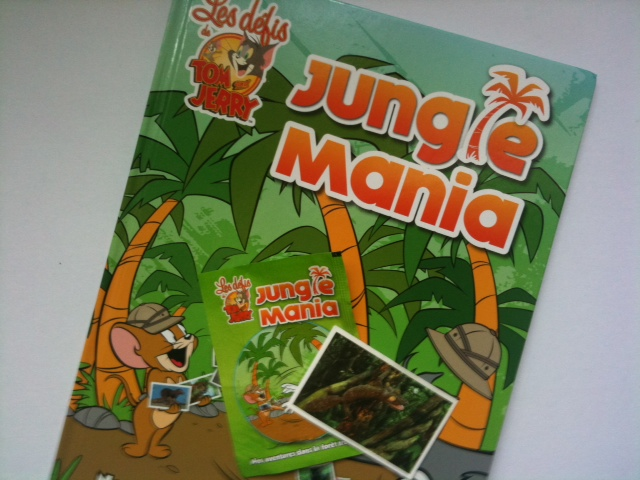Autocollants Auchan : la Jungle Mania ! | Mon blog de maman