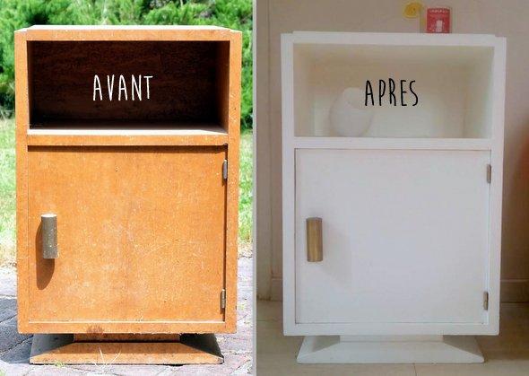 Le Petit Meuble Recup' [Avant/Après] | Mon Blog De Maman