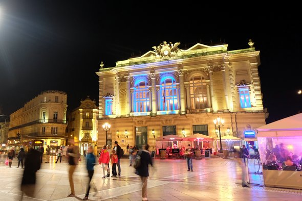 montpellier-by-night