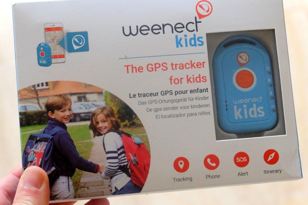 Test du traceur gps pour enfants Weenect kids