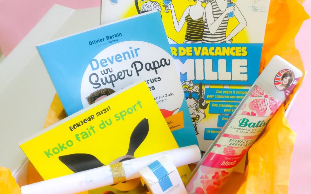 Idée de cadeau de naissance : une box vite fait bien fait