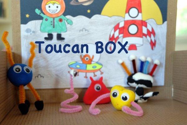 La ToucanBox pour occuper les enfants pendant les vacances