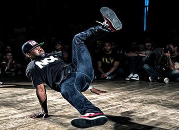 Blondy – danseur – hip-hop