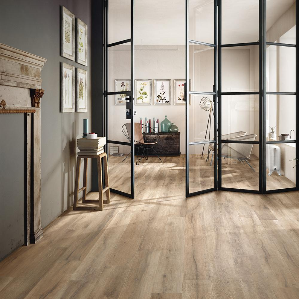 carrelage imitation bois parquet 20x120 bs beige structure rectifie collection kuni imola