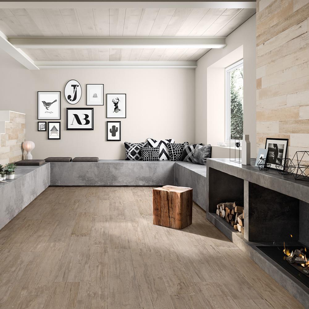 carrelage sol salle de bain imitation bois 20x100 style pav naturel collection flair naxos