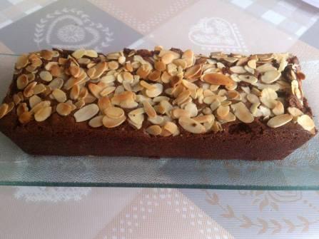 cake choco amandes