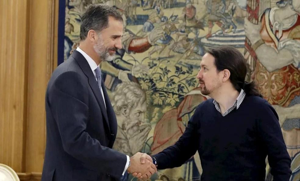 Felipe VI le debe el puesto a Pablo Iglesias... otra vez
