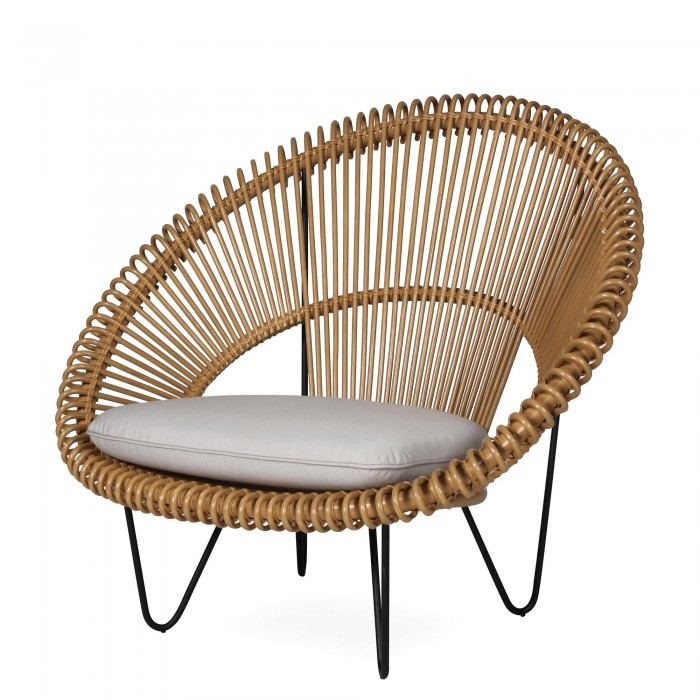 ROY COCOON Natural Armchair VINCENT SHEPPARD