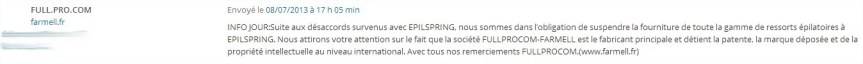 epilspring et farmell
