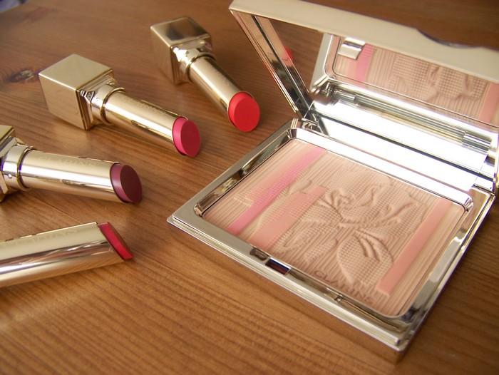 Clarins makeup 2013 - collection maquillage éclat printemps 2012