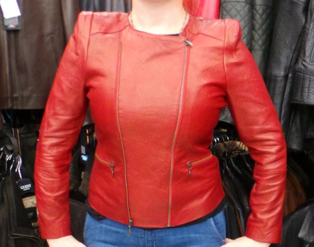 blouson fashion cuir 2