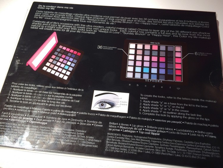 palette color my life par sephora 4