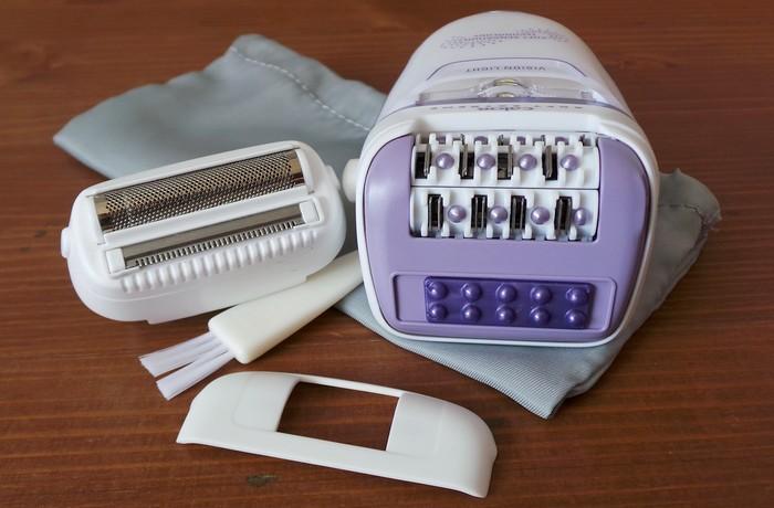 tete depilation anti douleur - epilateur calor soft extrem