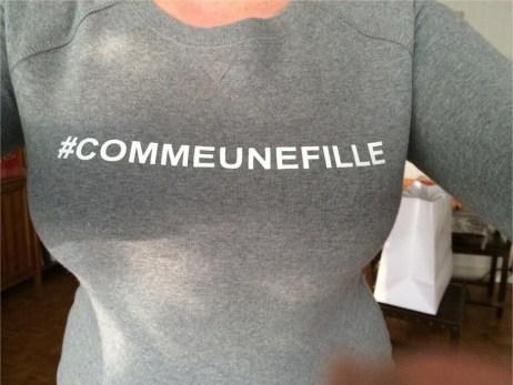 commeunefille Mlle Gima soutient la campagne