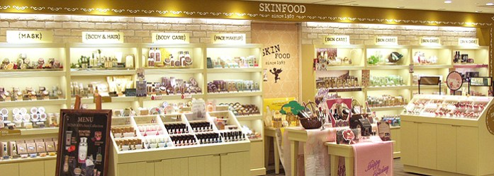 Magasin Skin Food au Japon