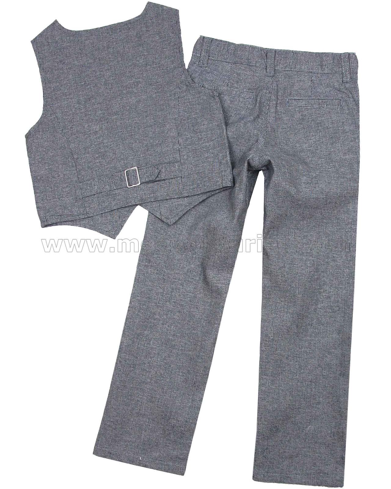 Black Velvet Vest Size 5 Boys