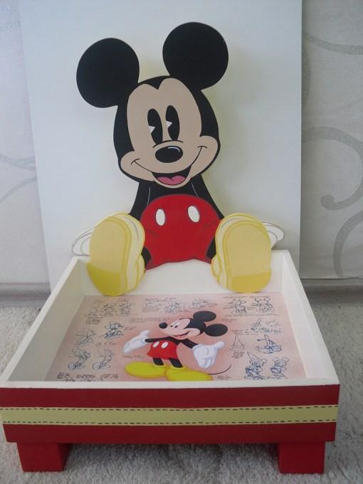 Mikinin Ahşap Şeker Sepeti