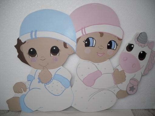 Sevimli İkizler Kapı Süsü