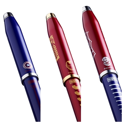 pulpen cross marvel-century