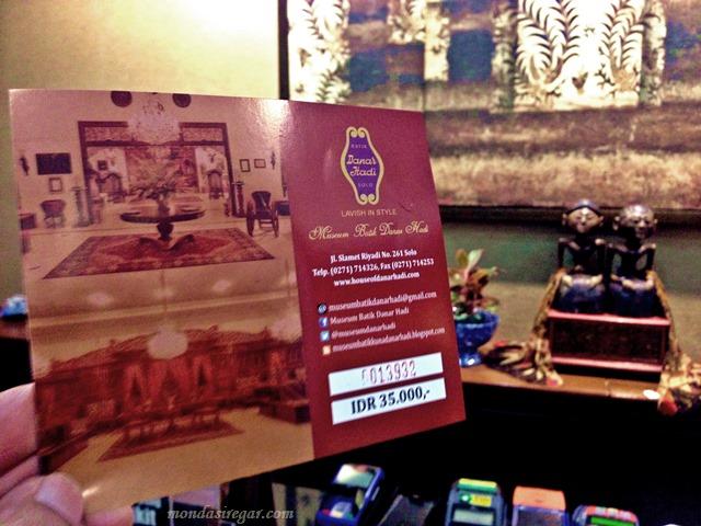 Tiket Museum Batik