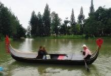 gondola, wisata Puncak, little venice