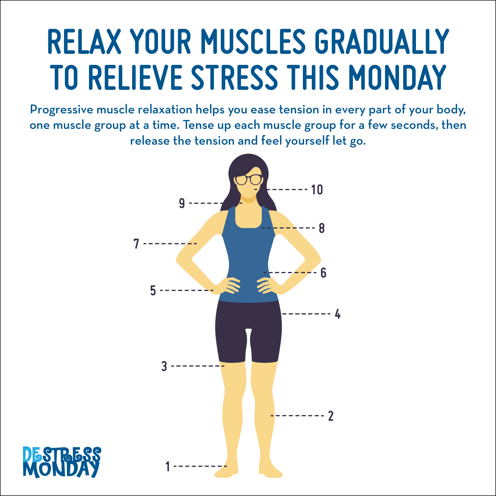 Beat Stress This Destress Monday With Progressive Muscle