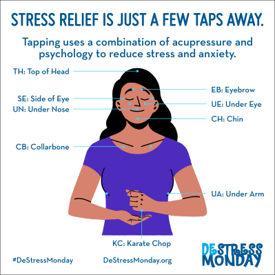 Tap Your Way to Reduced Stress and Anxiety - The Monday Campaigns