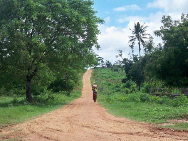 Mochilando pela África