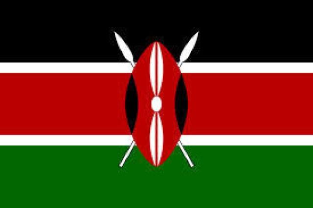 A bandeira do Quênia