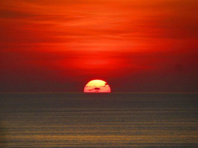 Pôr do sol em Bali