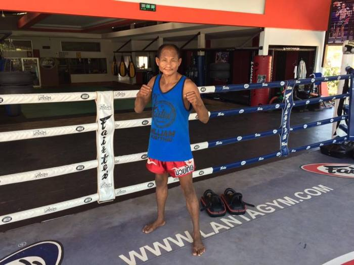 muay thay fighter