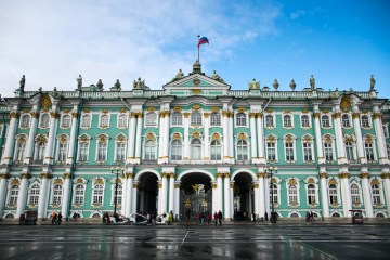 Hermitage one of the places to visit in Saint Petersburg