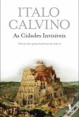 capa do livro As Cidades Invisíveis de Italo Calvino