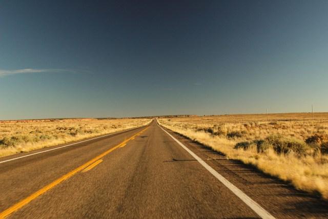 A road in Australia