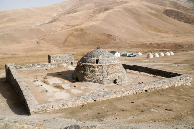 Tash Rabat no Quirguistão