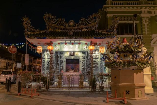 uma casa chinesa nas ruas de Penang