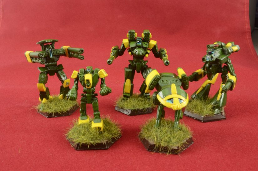 Poormans Clan mechs