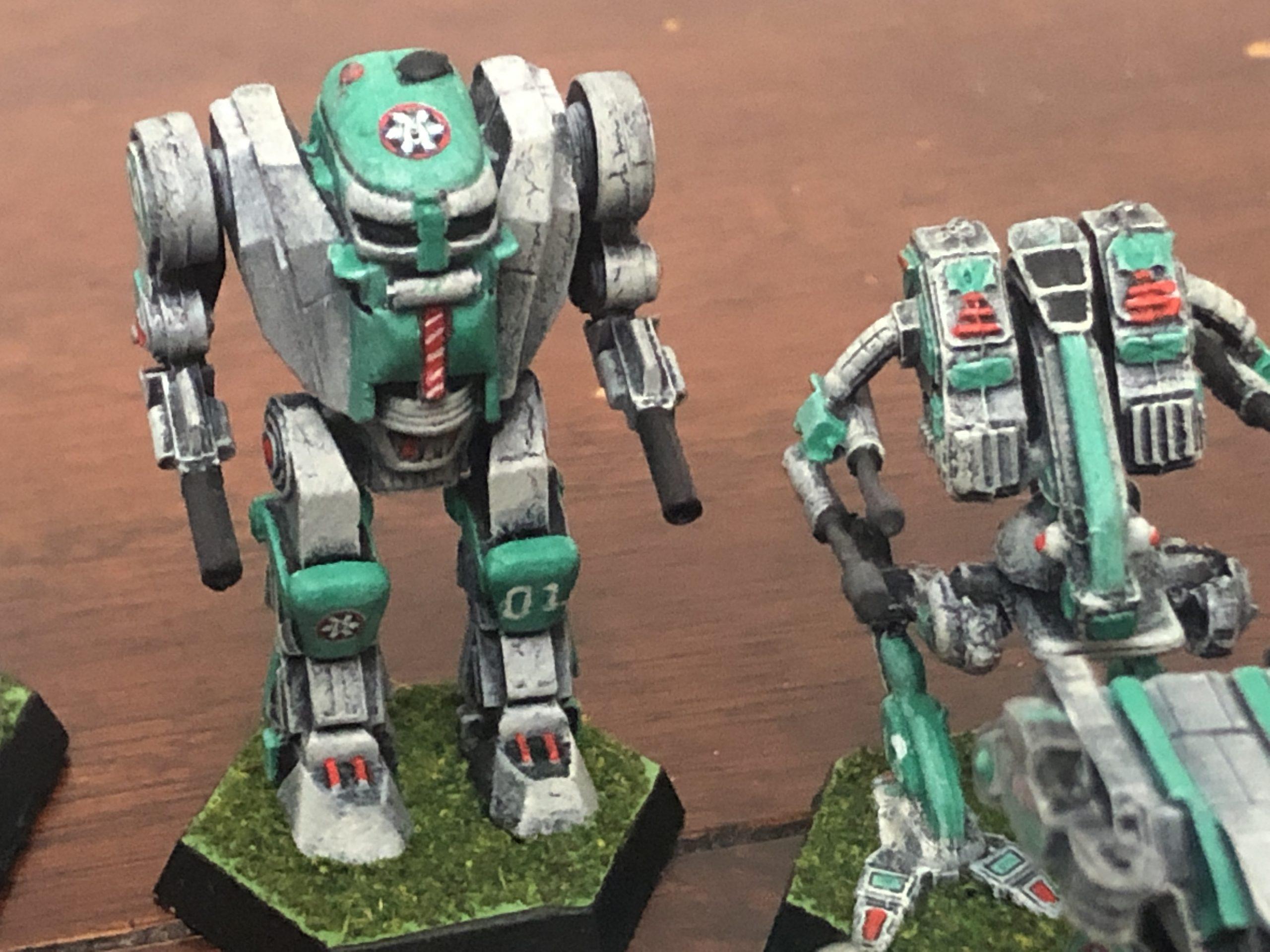 Battletech Clan Ghost Bear Decals 13