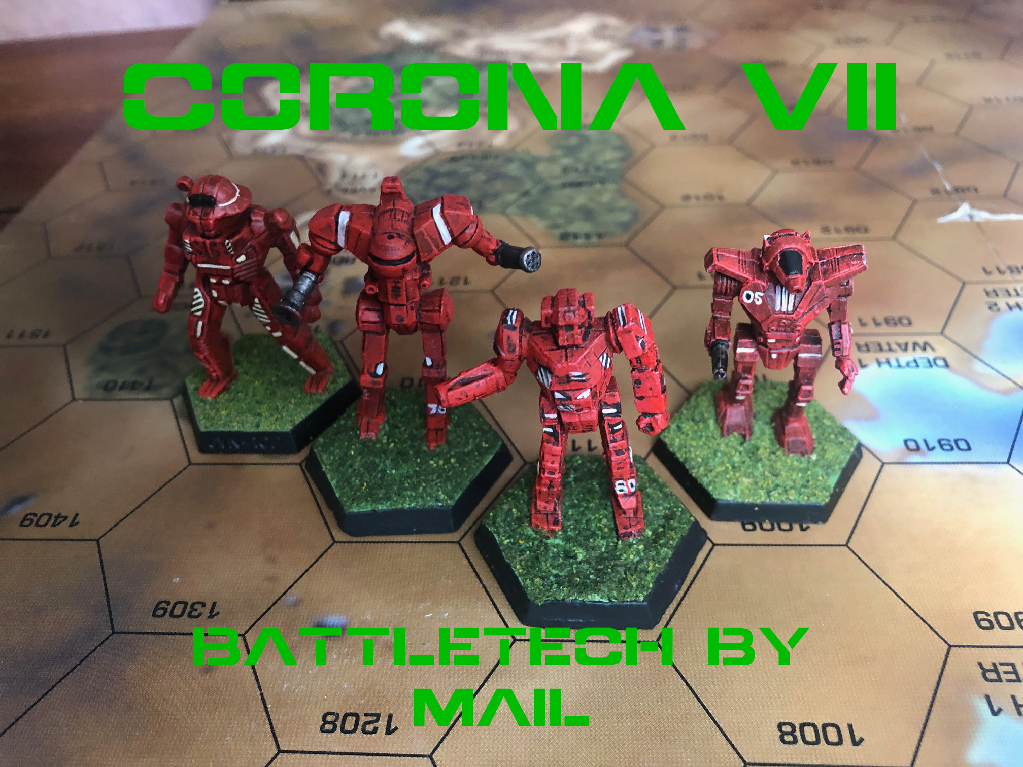 CORONA VII Wrap Up – Play by Mail Battletech 1