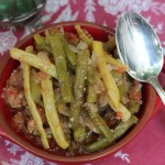 Turkish Braised beans