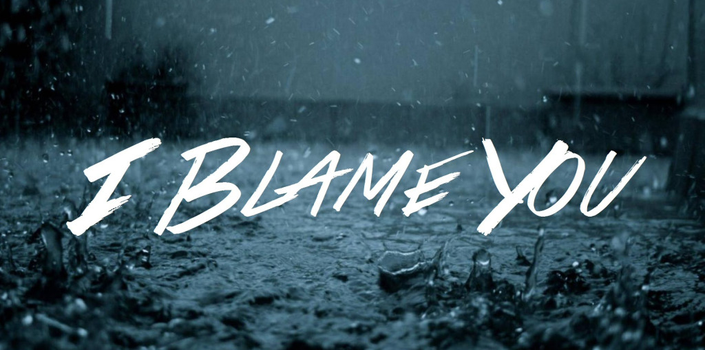 I Blame You… No! Blame Yourself.