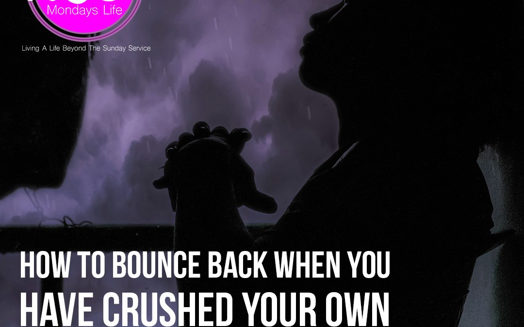 How to Bounce Back When You Have Crushed Your Own Character