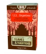 1, 2, 3 Gingembres ! Boite en bois (Gingembre Galanga Curcuma) 30 Tisanes Et Traditions