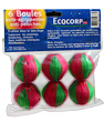 6 Boules auto agrippantes anti Ecocorp