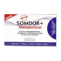 Somdor+ Mélatonine 15 granions