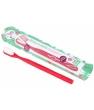 Brosse à dents écologique rechargeable rouge framboise Lamazuna