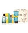 Coffret carnet de voyages eau de Parfum Vanille Monoï 100 ml + vaporisateur 15ml+ Gel Les Senteurs Gourmandes