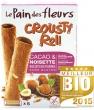 Crousty Roll Biscuits fourrés Cacao et Noisette Le Pain Des Fleurs