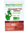 Dragonnettes Energy 100% bio Gommes à mâcher Arôme bio de Cola Phytonorm